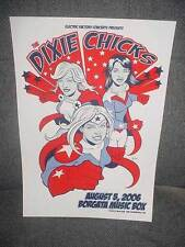 DIXIE CHICKS ATLANTIC CITY BORGATA MUSIC BOX  POSTER RARE