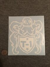 Terrible One Bmx LARGE Die Cut Official Sticker Decal - 1 Left- S&m Standard Fbm