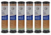 OmniFilter TO1SS 5 Micron 10 x 2.5 Comparable Whole House Carbon Filter 6 Pack