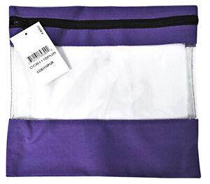 Craft Caddy Bag 11 Inch By 10 Inch Purple