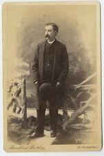 19th Century Fashion - 1800s Cabinet Card Photo - Broadbent Bros of Philadelphia