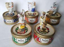 Wade Drum Box Band Full Set Dora Clara Jem Trunky & Harpy Boxed c1957 - 1959