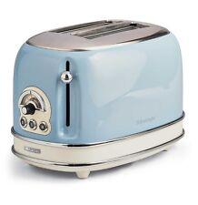 Tostapane Ariete Vintage 2 pinze acciaio tosta toast pane celeste 155 810w Rotex