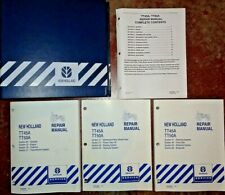New Holland TT45A TT50A Tractor Service Shop Repair Manual VERY GOOD ORIGINAL NH