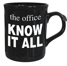 The Office Mug - Know it All - Novelty Gift - NEW