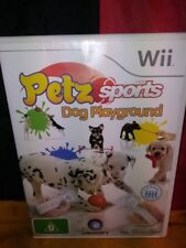 Petz Sports: Dog Playground - Wii Edition PAL - Includes Manual