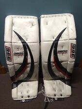 simmons 996 goalie pads 34+2