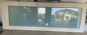 New 2340x820 (2) Corinthian Frosted Glass unpainted hinged Door