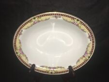 C AHRENFELDT LIMOGES OVAL VEGETABLE BOWL Serving Dish France
