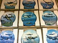 WWII RAF Aircraft/Plane ROYAL DOULTON BRADEX Collector Plates - YOU CHOOSE