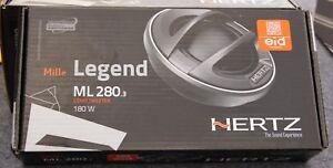 Hertz ML280.3  180W Component Tweeters  Mille Legend Series      New