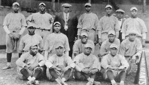 1924 HARRISBURG GIANTS 8X10 TEAM PHOTO BASEBALL PICTURE NEGRO LEAGUE