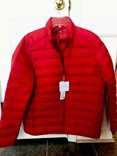 Uniqlo Men Ultra Light Down Pocketable Parka /Jacket/Puffer/Coat, L (Large), Red