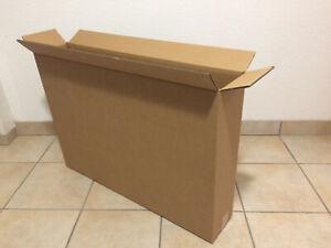 10x TV Monitor Umzugs Karton 2wellig 2.3 / 82cm x 57cm x 16cm SUPER QUALITÄT neu