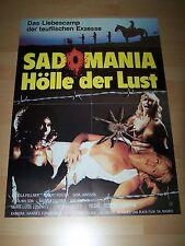 Sadomania-Hell of Lust-Cinema Poster a1'81-AJITA WILSON Robert Forster
