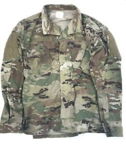 US Army Ocp Acu Scorpion Combat Feldjacke Nyco Jacke shirt ML Medium Long