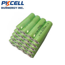 24pcs PKCELL Double A 2A Rechargeable Batteries AA 1.2V 1200mAh NIMH For RC CAR
