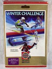 1988 Thunder Mountain Winter Challenge Atari 800 XL XE Computer Game Disc