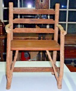 Chair Folk Art Wooden