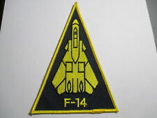 F-14 Fighter Jet Vintage Patch, NOS,Embroidered 4 x 6 INCHES