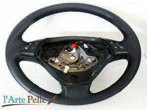 Fiat Grande Punto Steering Wheel Cover Black Leather