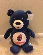 Plush NFL Football Chicago Bears Blue Bear NFL Licensed  Rally men Sugar Loaf