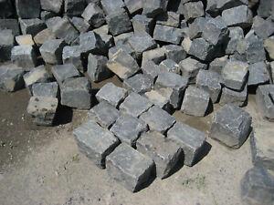 Basaltpflaster, Bogen- oder auch Reihenpflaster 14x17cm