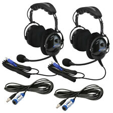 Rugged Radios Plus 2 Kit w/ H22 Ultimate Headsets Intercom Cable Expansion Kit