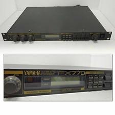 Yamaha FX770 Guitar Multi Effector Processor Audio Effector Working from Japan