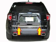 FITS FORD EXPLORER 2016-2018 STAINLESS CHROME REAR DECK LIFTGATE TRIM