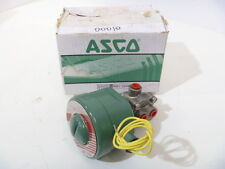 "1/4"" ASCO EFHBX 8342701 V11891 4-Way Stainless 24/DC Solenoid Valve NEW IN BOX"