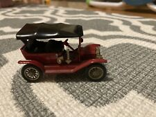 LESNEY MATCHBOX MODELS OF YESTERYEAR Y-1 1911 FORD MODEL T RED