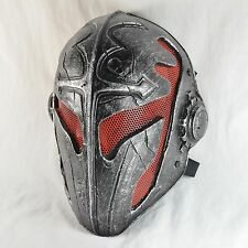 Red Wire mesh Black Silver Airsoft Paintball Protection Mask Halloween Cosplay