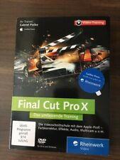 Final Cut Pro X Video Training