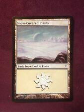 Snow-Covered Plains   VO   -  MTG Magic (EX)