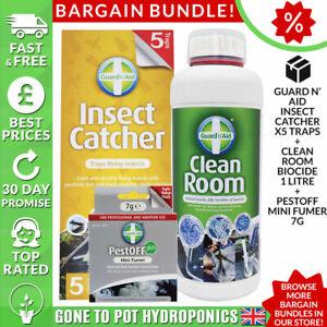 Guard 'n' Aid Clean Room 1 Litre, Insect Catcher & Mini Fumer - Discount Bundle