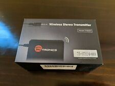 TaoTronics Wireless Bluetooth Transmitter Connected to 3.5mm Audio Devices