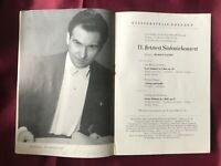 2 Autogramme RUDOLF KEMPE (†1976)-Programm Staatskapelle DRESDEN 1956-Dirigent