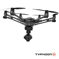 YUNEEC Typhoon H Hexacopter with CGO3+ 4K Camera + FREE BACKPACK & WIZARD