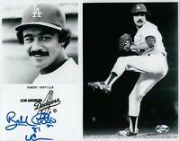 Bobby Castillo Signed 8X10 Photo Autograph LA Dodgers Team Card Auto w/COA