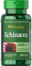 ECHINACEA fuerte 400 MG X 100 cápsulas sistema inmunológico saludable-envío 24HR