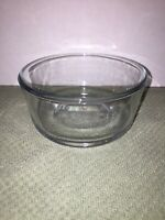 Pyrex Original 7200 Round Clear Glass Food Storage Bowl