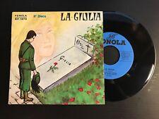 "TRIO MARINO / MIRELLA / ARDITO - LA GIULIA  II° DISCO  FONOLA D.R. 1870  LP 7"""