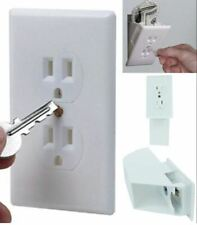 Safe Outlet Cover Box Wall Secret Container Electrical Fake Us Seller Free Ship