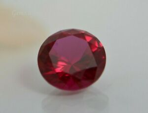 Ruby Round Shape Lab Created Corundum (1.5mm-16mm)