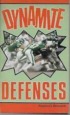 BOOK NFL FOOTBALL DYMAMITE DEFENSES RESCINITI 1984 VG 160 PGS STEELERS GIANTS