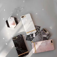 Art Glossy Granite Marble Soft TPU Phone Case Cover For iPhone 7 6 6s Plus