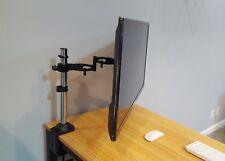 """Full motion Tilt, Pan, Swivel Desktop Mount for 32"""" Samsung, LG, Vizio LED TV"""