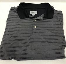 Walter Hagen Mens MediumPerformance Golf Shirt Nwot Grey Blk