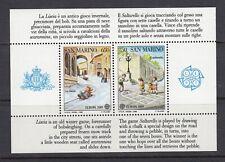 San Marino ~ 1989 Europa souvenir sheet  Sc# 1171  **/NH  (mr014)